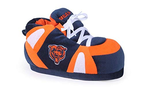 CHI01-5 Chicago Bears - XX Large - Happy Feet & Comfy Feet NFL Slippers