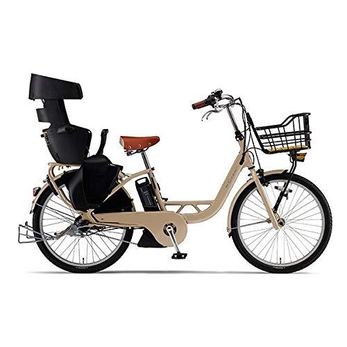 ヤマハ(YAMAHA) 電動アシスト自転車 PAS Crew PA24C マカロンラテ