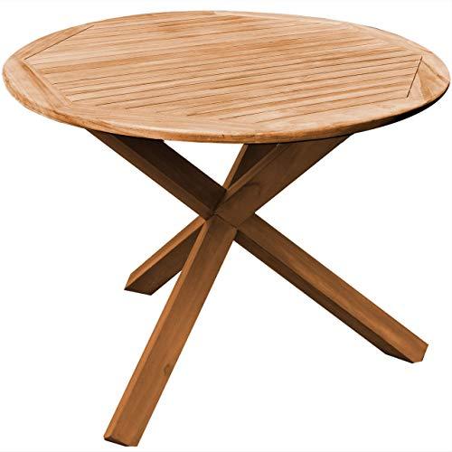 Sedex Gartentisch Cambridge 54 x 50 cm Beistelltisch Holztisch Tisch Bistrotisch Campingtisch Eukalyptus