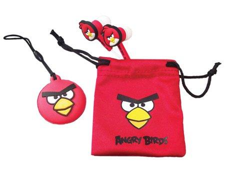 Angry Bird Ear Buds Set de accesorios para Nintendo DSi/DSi XL/3DS rojo...