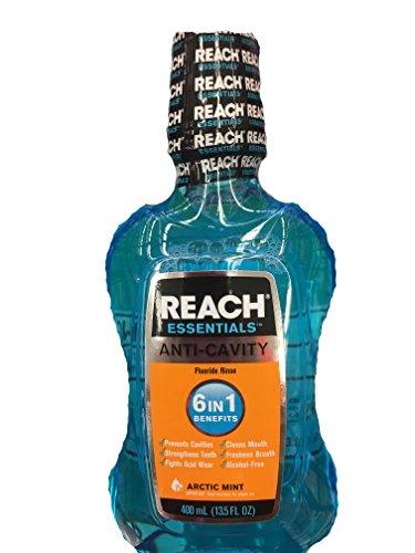 Reach Essentials Anti-Cavity Mouthwash Arctic Mint 13.5oz