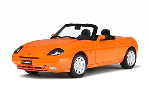 Fiat Barchetta orange Modellauto OT168 Otto 1:18
