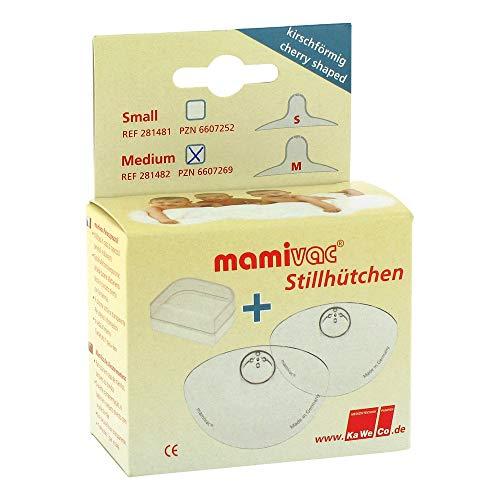 MAMIVAC Brusthütchen kirschförmig groß 2 St MAMIVAC kirschförmig Bild