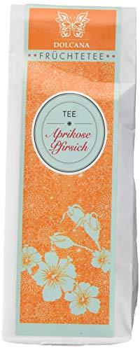 Dolcana Früchtetee Aprikose/Pfirsich, 1er Pack (1 x 100 g Packung)