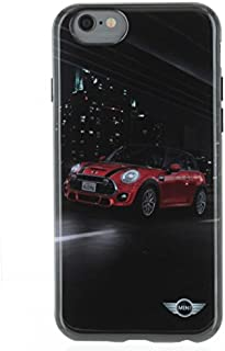 Mini Cooper Hard Case for iPhone 6/6s - Retail Packaging - Street Cars Red