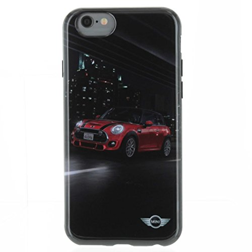 MINI Cooper Carcasa rígida para iPhone 6/6s, diseño de, Color Rojo