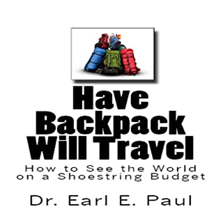Have Backpack Will Travel audiobook cover art