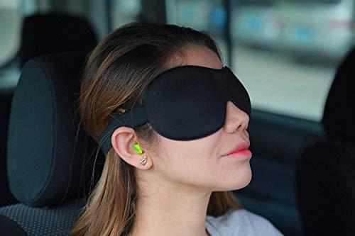 Sleepfun Deep Pocket 3D Sleeping Mask (2 Pack)