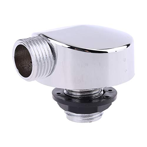 luosh Conector de Ducha, bañera de plástico Cromado Cabina de Ducha Accesorios de habitación Piezas