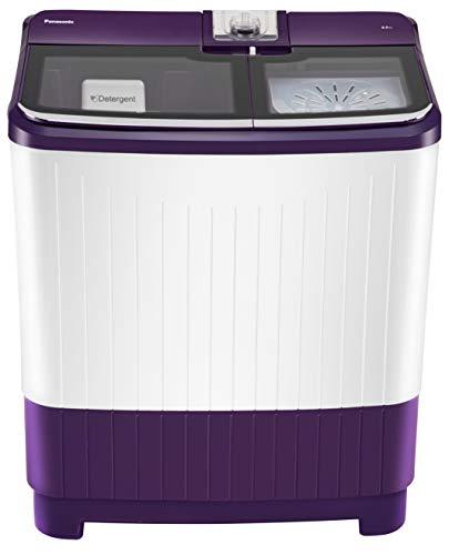 Panasonic 8 kg Semi-Automatic Top Loading Washing Machine (NA-W80G5VRB, Violet)