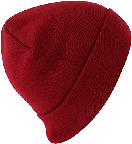Champion Beanie 804672 RS505 TRD Dunkelrot, Size:ONE Size