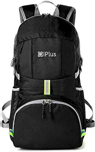 [iPlus] 登山ガイド/防災士 推薦 リュックサック メンズ YKK 軽量 大容量 防災 旅行 登山 折りたたみ コンパクト