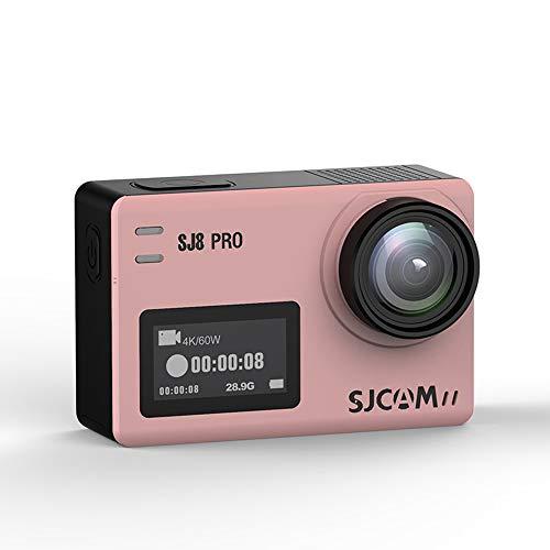 Xyfw Oro Rosa: Cámara De Acción Digital Resistente Al Agua con Pantalla Táctil, Video 4K HD, Fotos De 16MP con Control Remoto