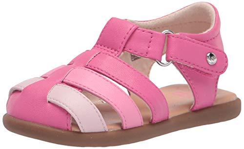UGG Baby Mädchen T KOLDING Sandale, PINK AZALEA, 21 EU