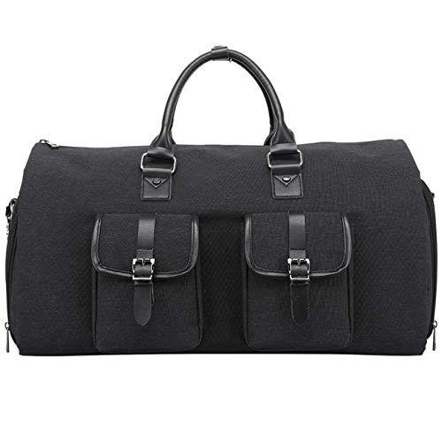 WFAL ongewone vouwen reiskleding tas, dragen op kleding Duffel tas 2 in 1 opknoping koffer pak zakelijke reistas waterdichte pak vervoerder
