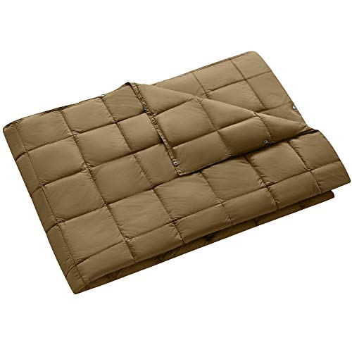 King Camp Multipurpose Packable Lightweight Travel Down Alternative Blanket