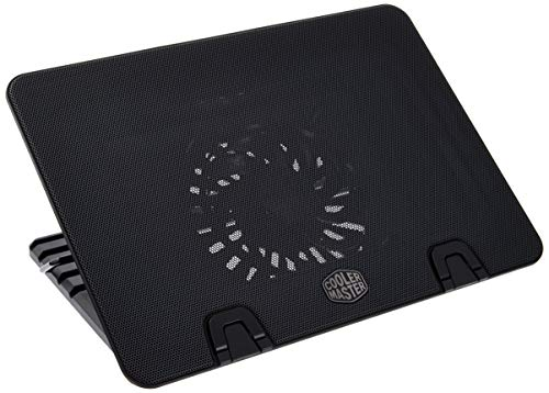 COOLER MASTER NotePal ErgoStand IV- metal mesh surface, 230 mm fan, fan speed control, 4 USB ports, 6 height settings