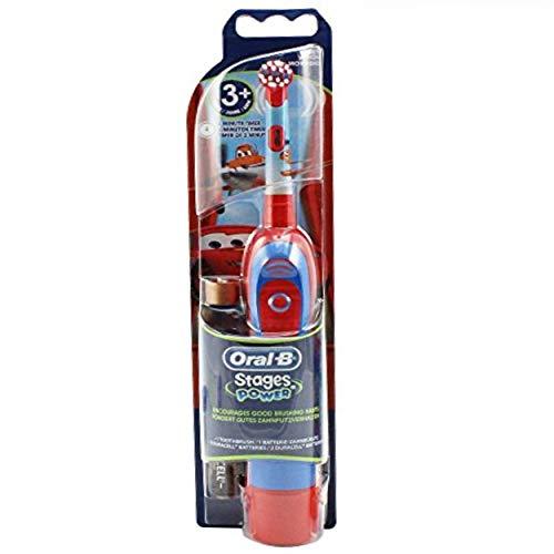 Braun Oral-B Stages Power Kids cls Batterie-Zahnbürste Kinder DB4.510.K Disney CARS + Timer