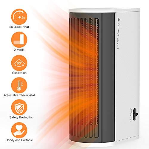 Uvistare Calefactor Pequeño Eléctrico Aire Personal