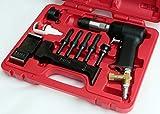 Wicks Aircraft Red Box 737-3X Rivet Gun Set, 3X Rivet Gun for Solid Rivets, Includes Bucking Bars
