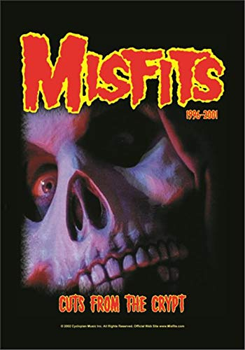 Misfits Cuts From The Crypt Official Textile Flag Poster