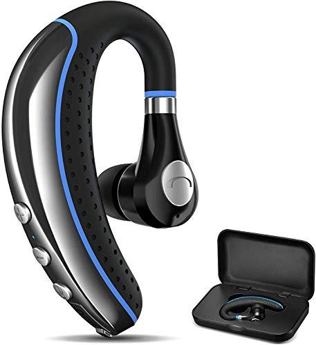 Bluetooth Headset, FIMITECH Wireless Earpiece V5.0 Ultralight Hands Free...