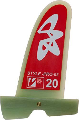 Maui Ultra Fins MUF Style Pro 02 Windsurf Freestyle Finne, Finnenlänge:18cm, Finnen Box:Powerbox