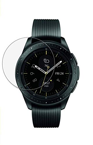 iloft Full Screen Tempered Glass for Samsung Galaxy Watch 42mm / Gear S2 / Gear Sport with Easy Installation kit