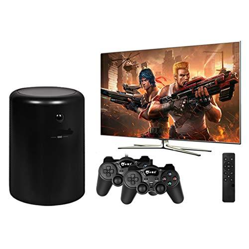 PIGE Consola de Juegos Retro inalámbrica con Sistema de TV y Controladores duales Gamepads, Consola de Videojuegos de TV integrada en más de 10,000 Juegos, para Salida HDMI/AV de TV 4K