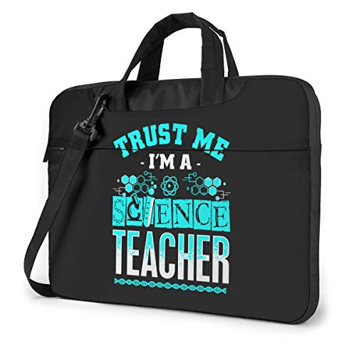 Trust Me I'm A Science Teacher Cute Laptop Case Laptop Shoulder Messenger Bag Sleeve for 13 To15.6 Inch