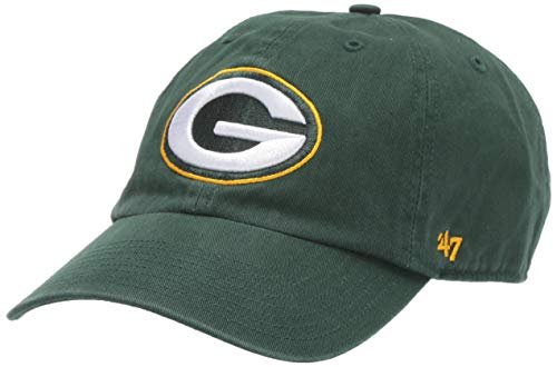 NFL Green Bay Packers '47 Clean Up Adjustable Hat, Dark Green, One Size