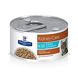 kidney care support cat food