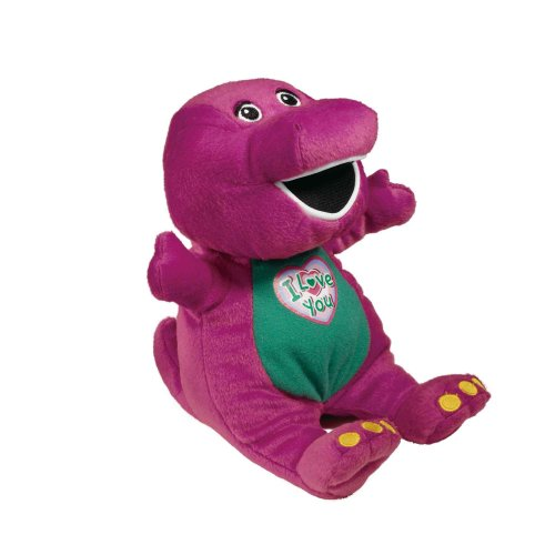 "Barney The Dinosaur Singing ""I Love You"" Plush (10"")"