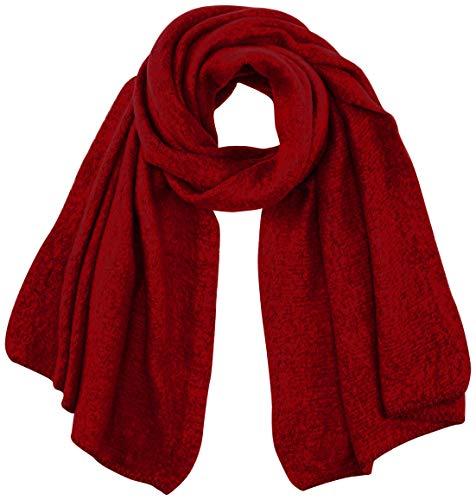 ONLY Damen ONLLIMA Knit Long Scarf CC Mode-Schal, Rhubarb, ONE Size