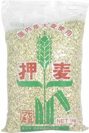 日本精麦 押麦 1kg