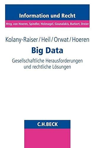 Big Data: Gesellschaftliche Herausforderungen und rechtliche Lösungen: Gesellschaftliche Herausforderungen und rechtliche Lsungen