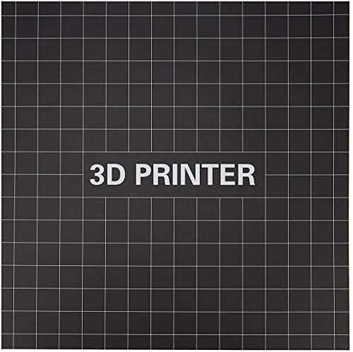 YBINGA Plataforma de cama calentada para impresora 3D, 400 x 400 mm Hot Bed Aluminio Sustrato 3D Plataforma de impresión Etiqueta mate para piezas de repuesto Cr-10S