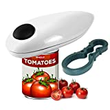 Electric Can Opener, Restaurant Can Opener, One Touch and Go Professional Can Opener, Smooth Edge Automatic Electric Can/Tin Opener, Best Can Opener Electric for Seniors and Chef's