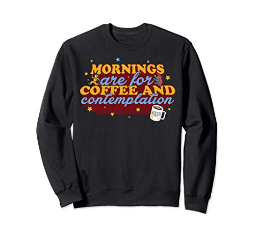 Netflix Stranger Things Coffee And Contemplation Typographic Sudadera
