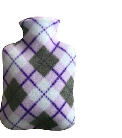 Housse de protection pour bouillotte avec joli tissu en peluche, impression douce et chaude, pour offrir chaleur et confort. 4