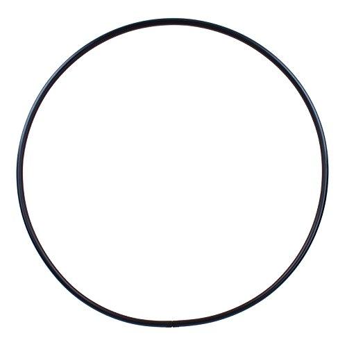 Hoopomania® Hula Hoop Rohling, PE-25mm, SCHWARZ, Durchmesser 100cm