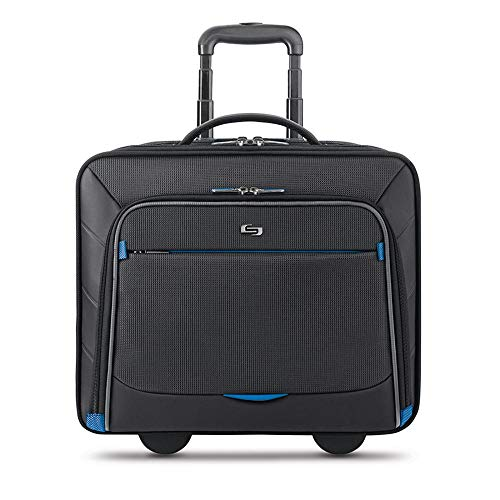 Solo New York Active Rolling Overnight Case, Black