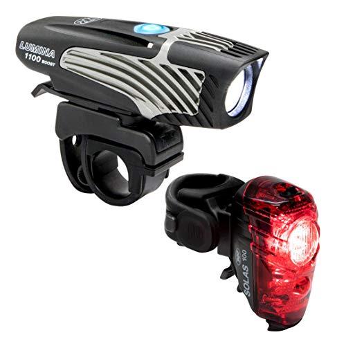 NiteRider (6776) Lumina 1100 Boost/Solas 100 Combo Bike Headlight Taillight