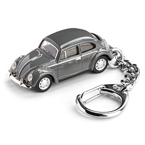 corpus delicti :: Schlüsselanhänger mit VW Käfer grau Modellauto für alle Auto- und Oldtimerfans (20.9-6)