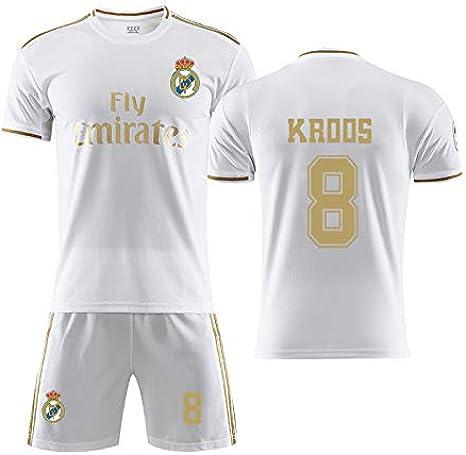 TKSORTS Camiseta Toni Kroos 8 Real Madrid 2019-2020 ...
