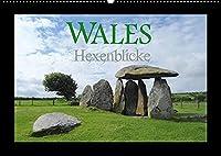 Wales Hexenblicke (Wandkalender 2022 DIN A2 quer): Ein kleiner Blick in das Land der verzauberten Orte und magischen Augenblicke. (Monatskalender, 14 Seiten )