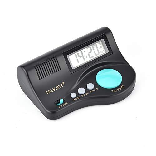 sprechende Uhr Blindenuhr Wecker Tischuhr Alarm 6695