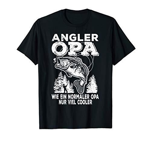 Herren Angler Papa cooler Vater Dad T-Shirt Fischer geschenke T-Shirt