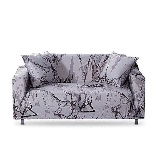 Vlejoy Sofaüberwurf Marmor Sofabezug Elastic Schonbezüge Sessel Schonbezüge Esszimmer Stretch Sofabezüge-4 Sitzer (235-300cm) _Color-G