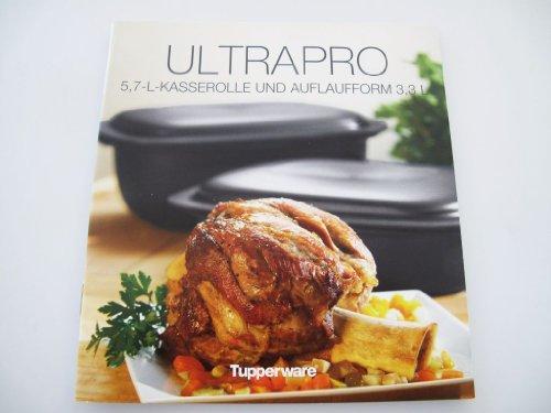 TUPPERWARE Rezeptheft 5,7L+3,3L Kasserolle Ultra Pro Kochheft kochen UltraPro